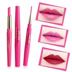 Double-ended Pencil Lipstick Pen Matte Lip Liner Long Lasting Makeup Smooth Best