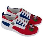 DOMINICAN Republic Coat Of Arm National Flag Men/Women Running Sneaker Shoes DSH