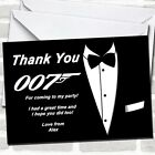 James Bond Party Thank You Cards $23.95 USD on eBay