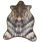 Faux Exotic Animal Imitation Skin Rug Premium Quality Rug und Chair Cover de
