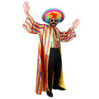 RAINBOW PRIDE COSTUME 6 PIECE GAY PRIDE ADULT MENS FANCY DRESS