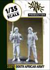 1/35 scale resin model kit south african army