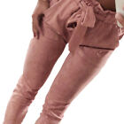 Damen High Waist Bleistift Leggings Hose Skinny Stretch Cargo Stoffhose Jeggings