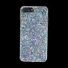 For iPhone X 8 7 Plus Full Bling Glitter Sparkle Protective Phone Case Cover