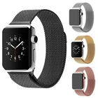 HOT Milanese Loop Stainless Steel Watch Bands Strap For Apple Watch Series1/2/3