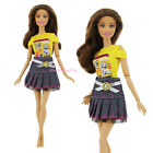 Pants Short Skirts Casual Outfit Dress Clothes For Barbie Doll Accessories Gift