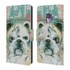 OFFICIAL AMANDA HILBURN ANIMALS LEATHER BOOK WALLET CASE FOR SAMSUNG PHONES 1