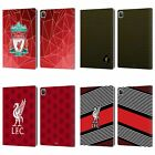 LIVERPOOL FC LFC 2018/19 CREST & LIVERBIRD PU LEATHER BOOK CASE FOR APPLE iPAD