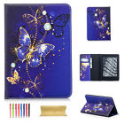 For Kindle Paperwhite1/2/3 Cute Flip Leather Wake/Sleep Wallet Stand Case Cover