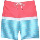 Southern Tide Mens Sunset Coral Swim Trunks