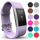 Replacement Strap For FitBit Charge 2 Sports Bracelet Watch Wristband Loop Band <br/> ⭐TOP UK RATED⭐SIZES S ,L⭐15 COLOURS⭐SAME DAY DISPATCH⭐