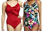 $102~DreamShaper by Miraclesuit Ruffle Mio One-Piece Swimsuit~A232223