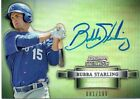 BUBBA STARLING 2012 BOWMAN STERLING REFRACTOR PROSPECT PROFILE AUTO RC  81/199