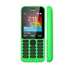 Unlocked Original Nokia 215 Dual SIM  Bluetooth MP3 Black White Green Cellphone