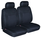 PAIR BREATHABLE JACQUARD SEAT COVERS FOR MITSUBISHI STARION RWD COUPE