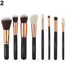 FM- Pro Powder Foundation Eyeshadow Eyeliner Brush Lip Brush Set Makeup Tool Lit