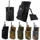 Outdoor Tactical Radio Case Holder Walkie Talkie Holster Molle Pouch Bag USA