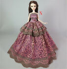 Handmade Clothes Dresses Grows Outfit for Barbie Doll Dress Gift Accessories