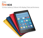 BRAND NEW Amazon  Fire HD 8 Tablet 16 GB w/Alexa 7th Gen 2017 2018 with offer