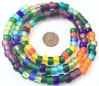 Fine Vintage Fine Medley Bohemian glass Crow African trade beads
