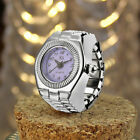 Fashion Dial Quartz Analog Watch Creative Steel Elastic Quartz Finger Ring Watch