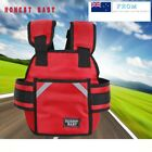 Motorcycle Seat Kids Safety Harness  Strap Back Support Belt Protective Gear cc