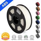 SUNLU ABS 3D Printer Filaments 1.75mm 2.2LBS/1KG with Spool White ABS Filament