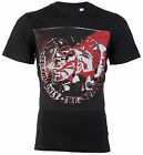 DIESEL Mens T-Shirt MOHICAN Mohawk Indian BLACK Casual Designer $58 Jeans NWT image