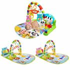 Baby Play Mat Toddler Gym Blanket Piano Pedal Fitness Frame Toy with Music RW