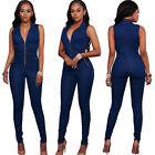 sexy women s denim jeans pants overalls