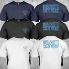 NEW Massachusetts Police State United States Department Justice Tee T-Shirt image