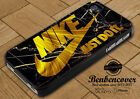 Nike Just Do It Gold iPhone 5s 6 7 8 X iPod Samsung Galaxy Note Edge Plus Case