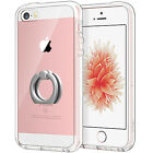 JETech Case for Apple iPhone SE 5s 5 Shockproof Bumper Cover with Ring Holder