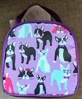 BOSTON TERRIER INSULATED LUNCH TOTE / COOLER BAG. WORK, SCHOOL, SHOPPING, PICNIC
