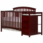 Dream On Me Niko 5-in-1 Convertible Crib and Changer Combo <br/> Direct from Wayfair