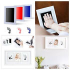 Внешний вид - Newborn Baby Handprint Footprint Photo Frame Kit Non-Toxic Clean Touch Ink Pad