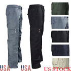 Mens Black Navy knee pad pocket Cargo Combat Outdoor Work wear Warehouse Trouser
