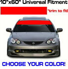 "scion tc xb iq Blank 60"" x 10"" Windshield Banner vinyl sticker Sun Strip Visor $11.96 USD on eBay"