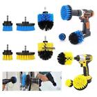 Cleaning Drill Brush 3Pcs/Set Kit Wall Tile Grout Power Scrubber Tub Tool US