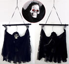 Creepy Voice Halloween Door Decoration Hanging Ghost Haunted House Props Decor