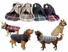 SMALL EXTRA LARGE dog waterproof warm 2 in 1 coat jacket clothes reversible HOT