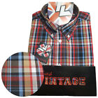 Warrior UK England Button Down Shirt IDOL Hemd Slim-Fit Skinhead Mod
