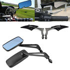 Blade/Flame/Rectangle Motorcycle Side Mirror For Harley Touring Glide Yamaha xvs