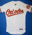 New Majestic Authentic Baltimore Orioles On-Field Home White Jersey Men'  Size40 on Ebay