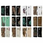 OFFICIAL BIOWORKZ COLOURED WILDLIFE 1 LEATHER BOOK CASE FOR MOTOROLA PHONES