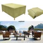 Rectangular Outdoor Patio Table Chair Cover Furniture Storage RLWH 02