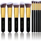 Makeup Brush Set Kit Synthetic Blending Blush Eyeliner Face