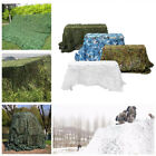 6.6 x 6.6FT  Camouflage Camo Net Netting Hunting Hide Military Woodland Shelter