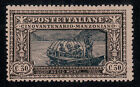 ITALY #167 Mint Hinged 30c A MANZONI 1923 Shows: Fugitive Farewell SCV $24.00