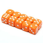 10Pcs 14Mm Six Sided Spot Fun Board Game Dice Games Party Gambling Game DicesM&C